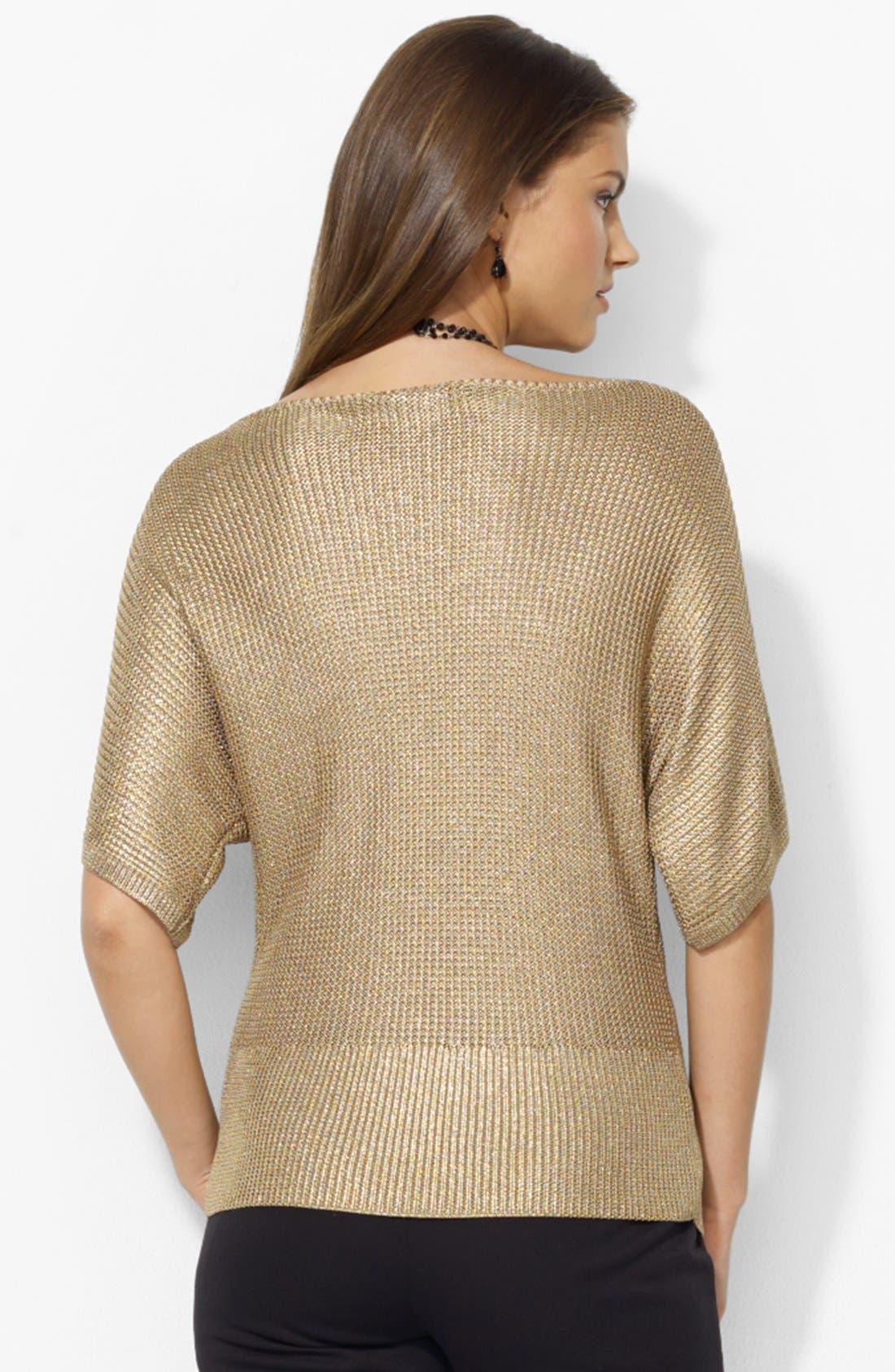 Alternate Image 2  - Lauren Ralph Lauren Bateau Neck Sweater