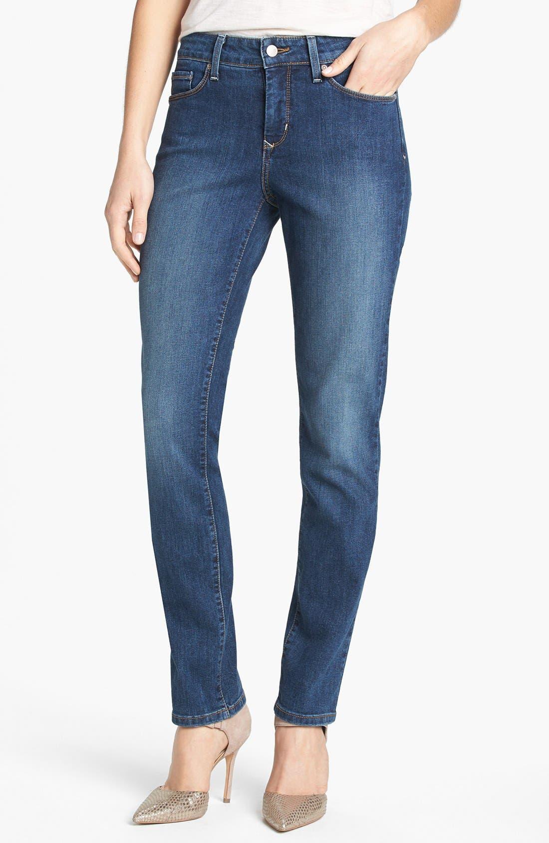 Alternate Image 1 Selected - NYDJ 'Sheri' Stretch Skinny Jeans (Lynbrook)