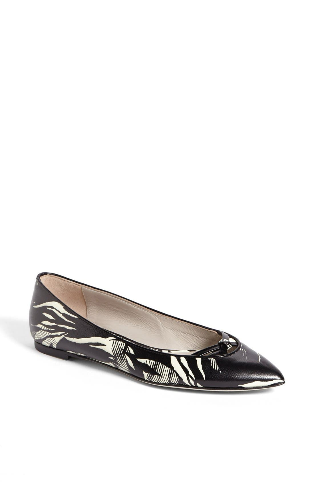 Main Image - Jason Wu Tropical Print Ballet Flat