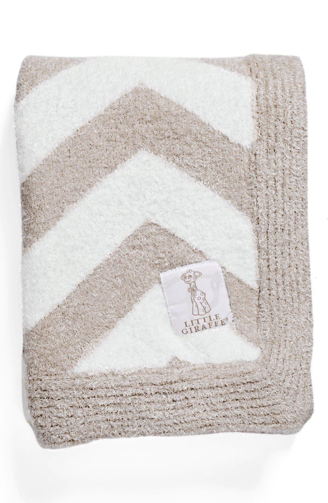 Alternate Image 1 Selected - Little Giraffe 'Dolce Chevron' Blanket