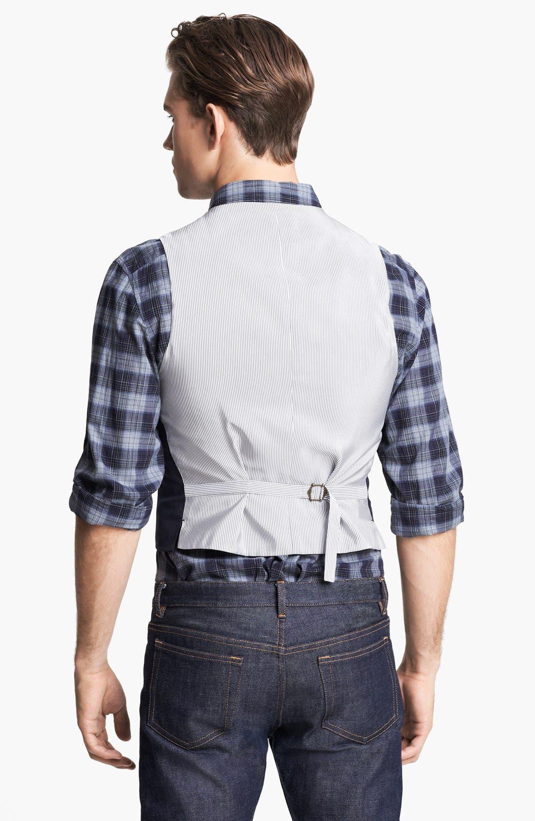 Alternate Image 2  - John Varvatos Star USA Tailored Vest