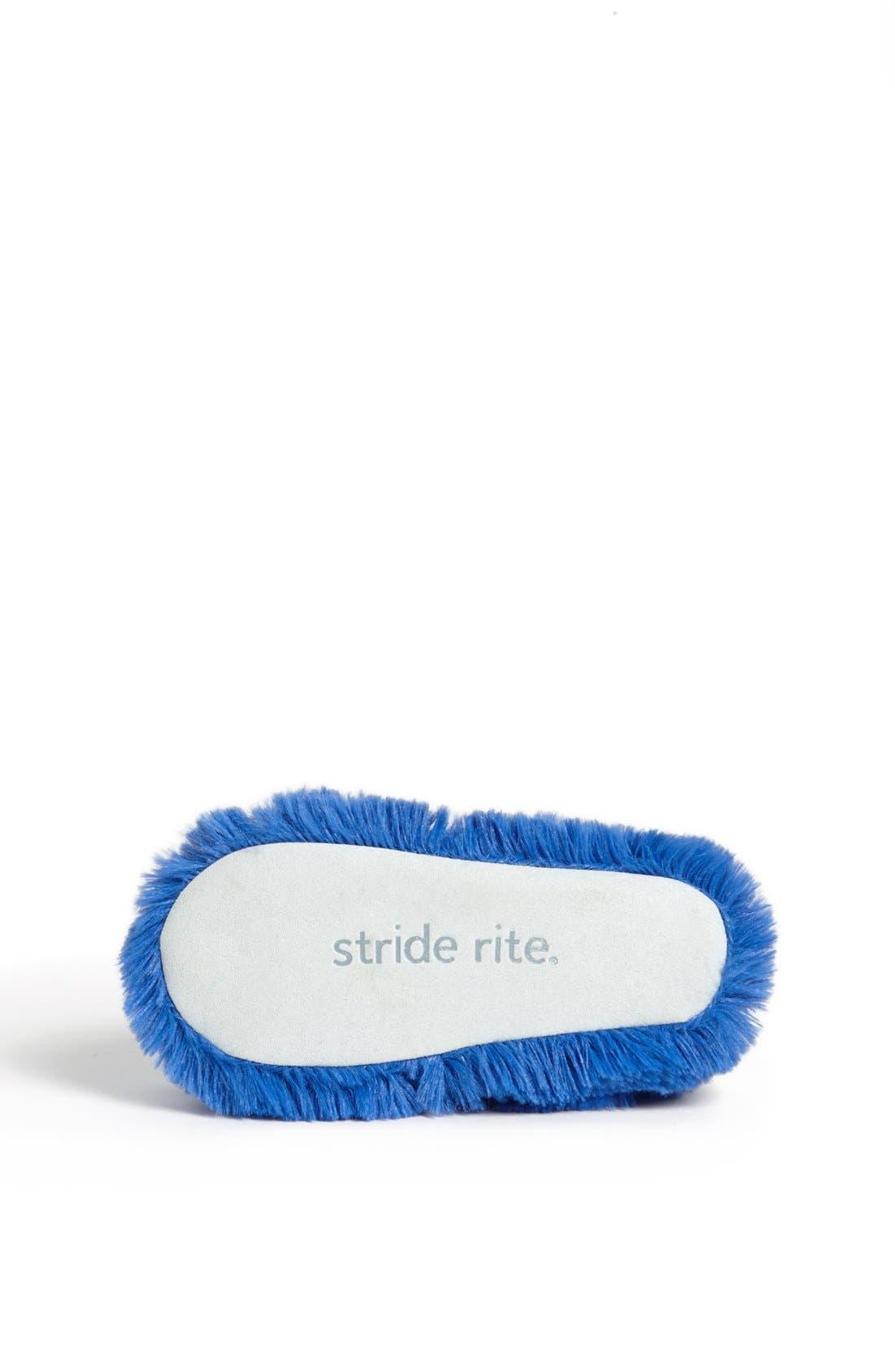Alternate Image 4  - Stride Rite 'Mustachio' Slippers (Toddler & Little Kid)