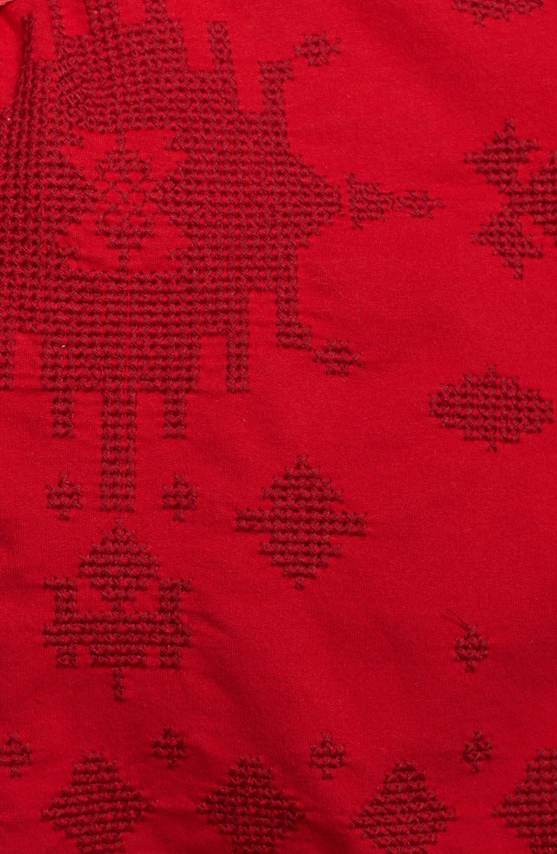 Alternate Image 3  - Lucky Brand 'Hannah' Embroidered Wrap