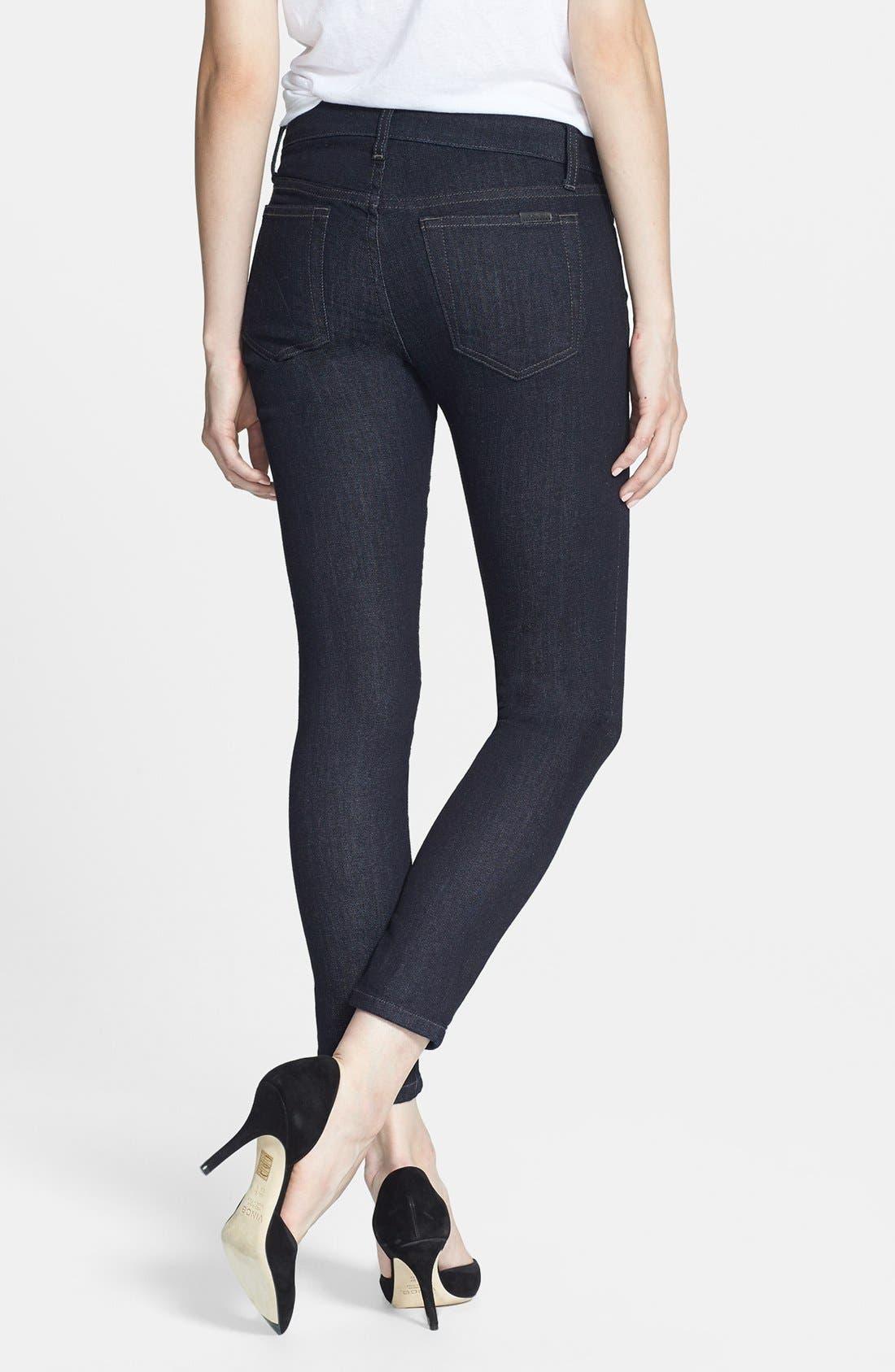 Alternate Image 2  - Joe's Skinny Ankle Jeans (Delia)
