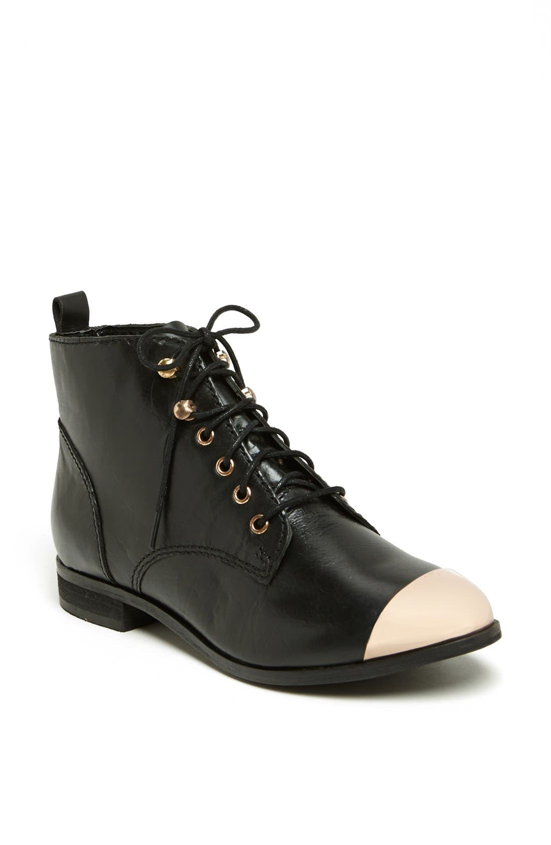 Alternate Image 1 Selected - Topshop 'Mystify' Toe Cap Bootie