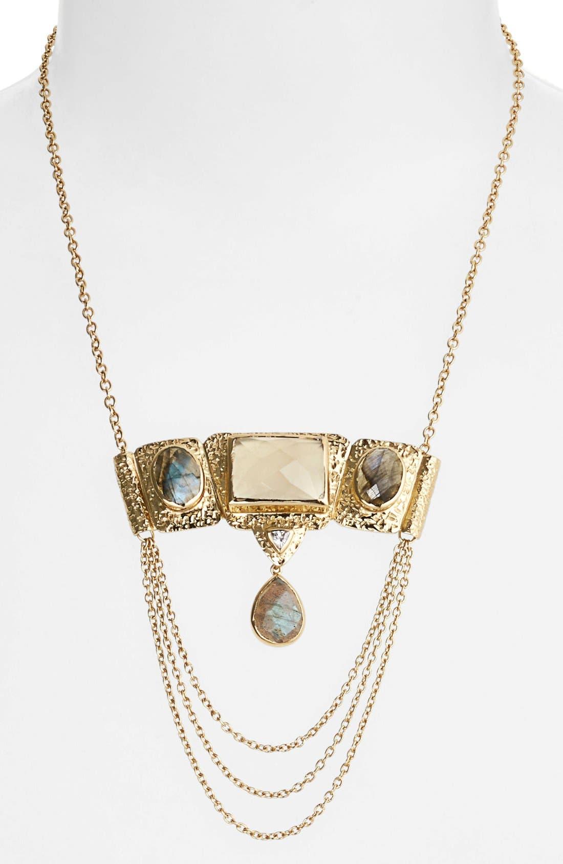 Main Image - Melinda Maria 'Sadie' Bib Necklace