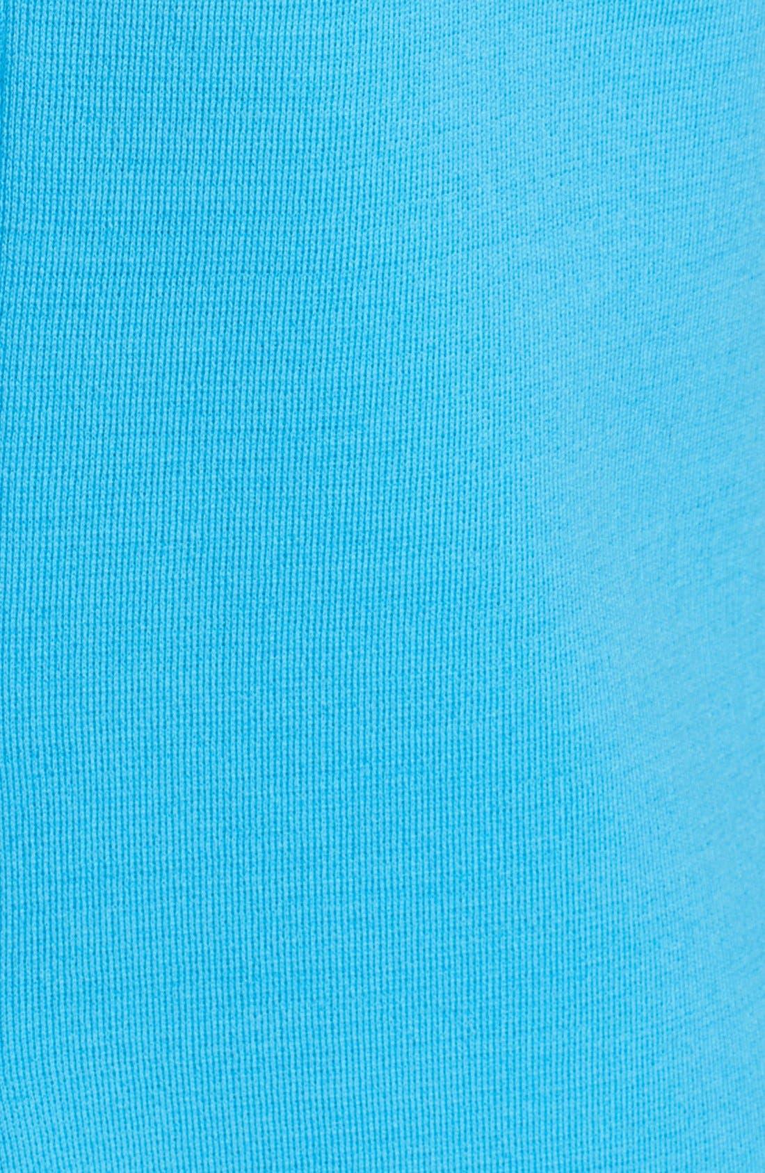 Alternate Image 3  - St. John Collection Milano Knit Jewel Neck Trapeze Dress