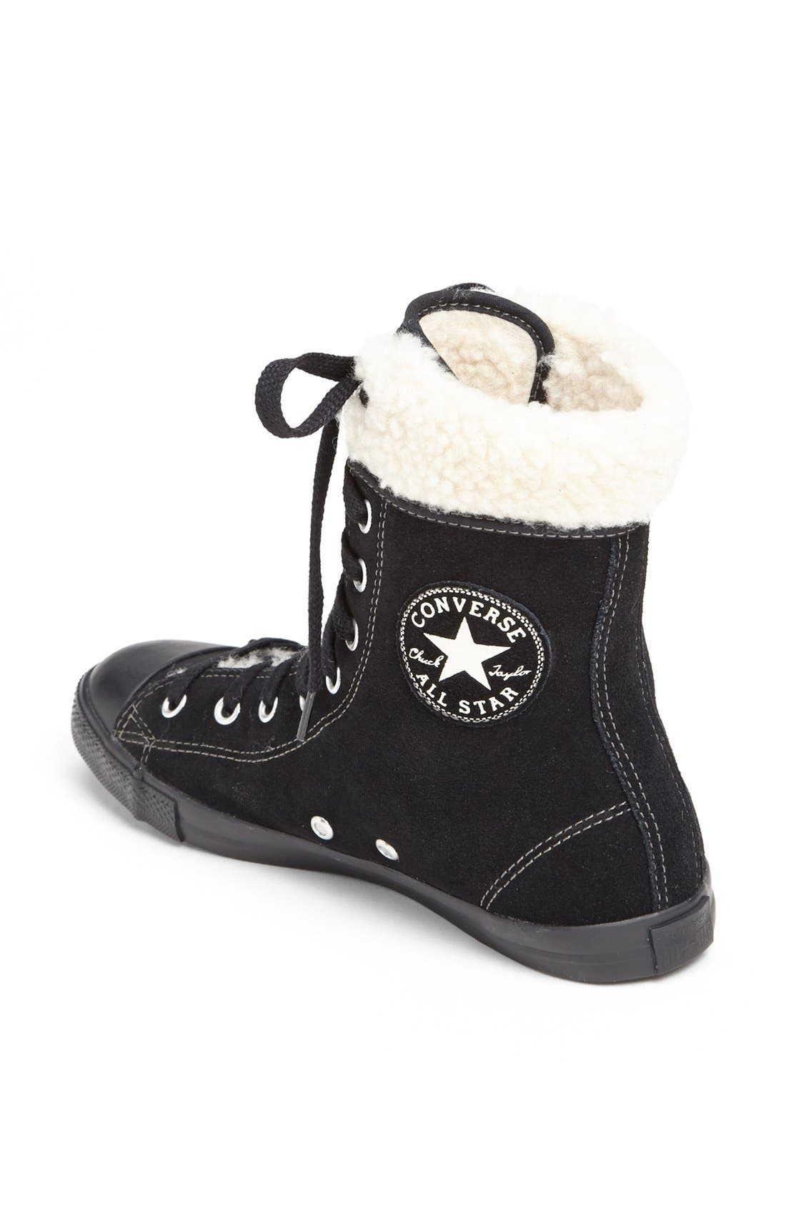 Alternate Image 2  - Converse Chuck Taylor® All Star®' Dainty' Suede High Top Sneaker (Women)