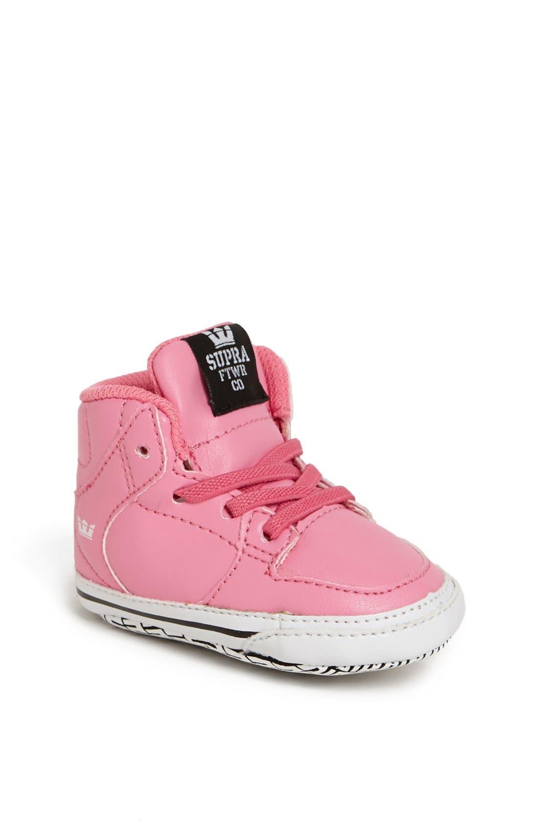 Main Image - Supra 'Vaider' Crib Shoe (Baby)