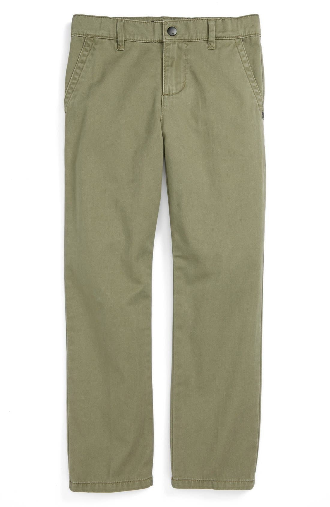 Alternate Image 1 Selected - Quiksilver 'Box Car' Chinos (Little Boys)