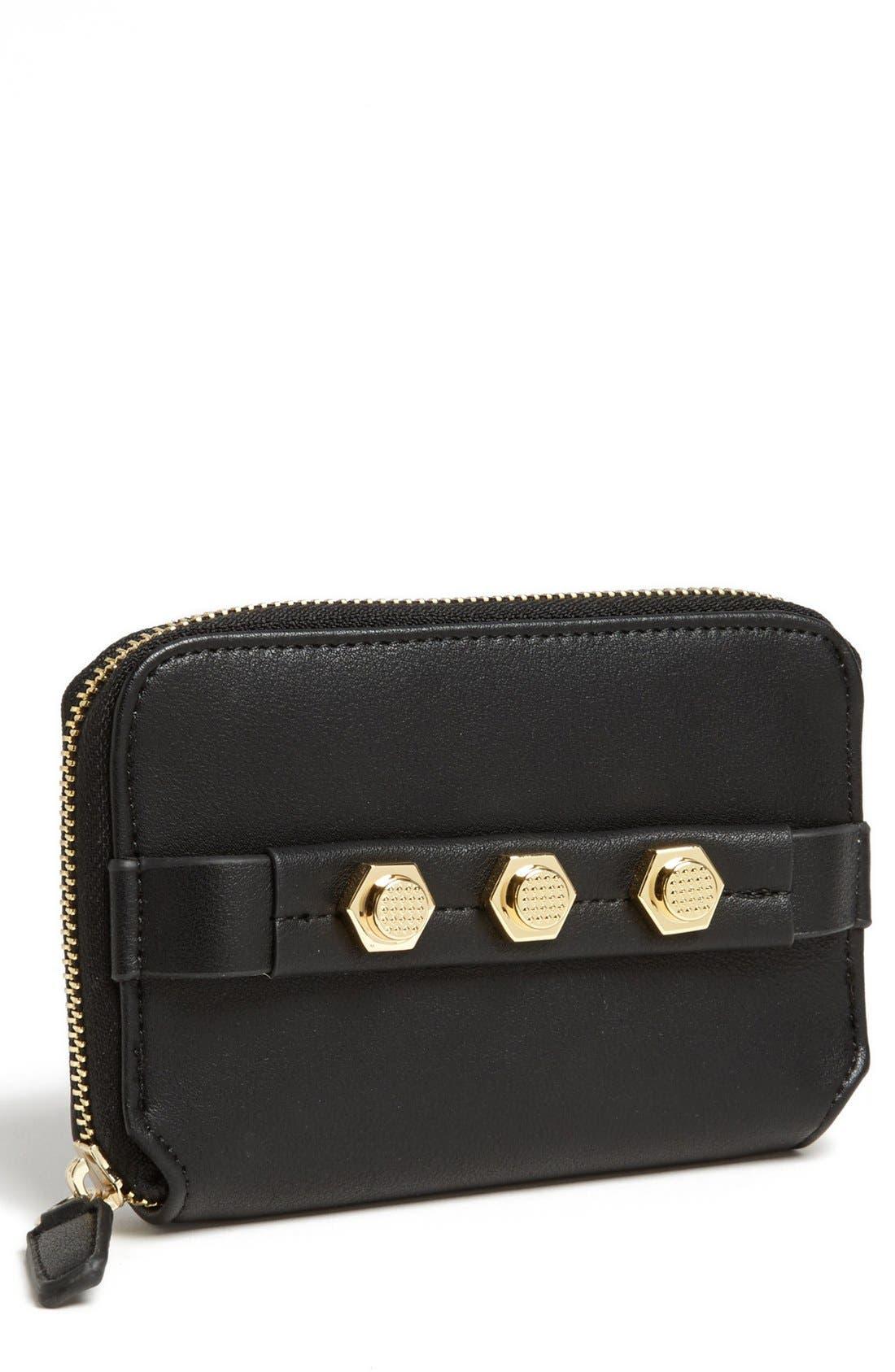 Main Image - Danielle Nicole 'Tina' Faux Leather Zip Around Wallet