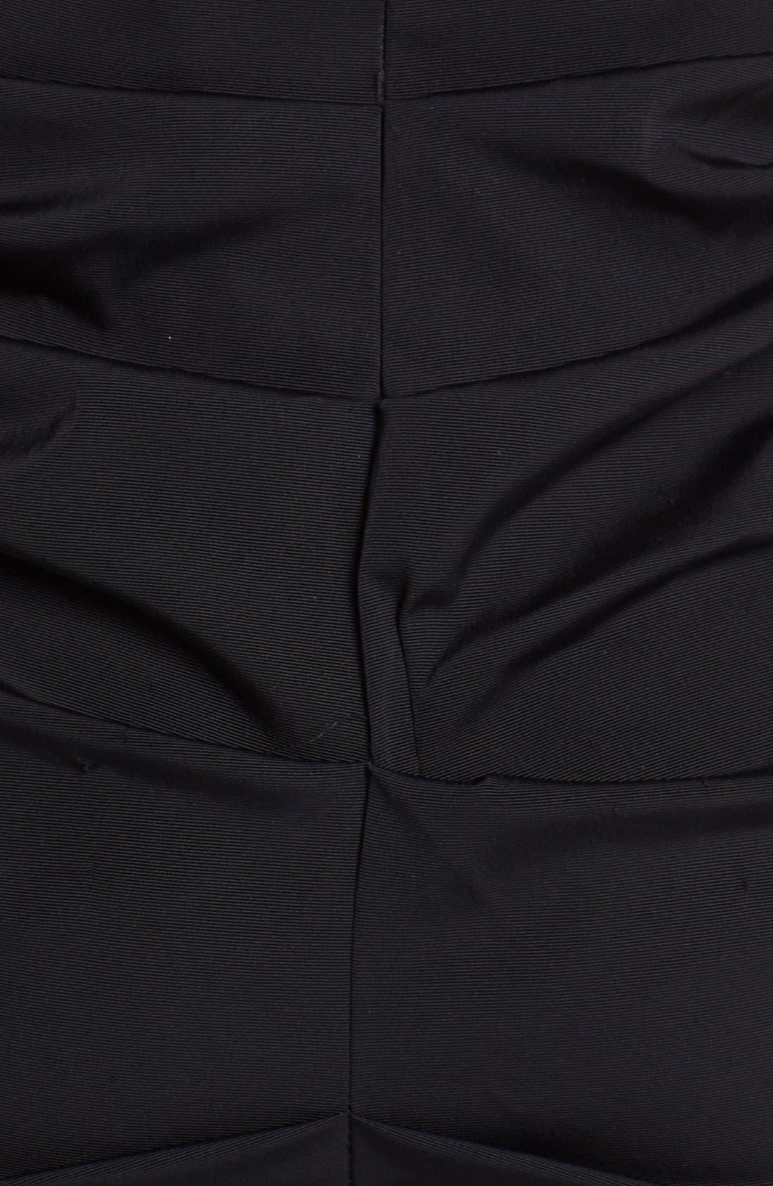 Alternate Image 4  - Xscape Gathered Stretch Crepe Sheath Dress