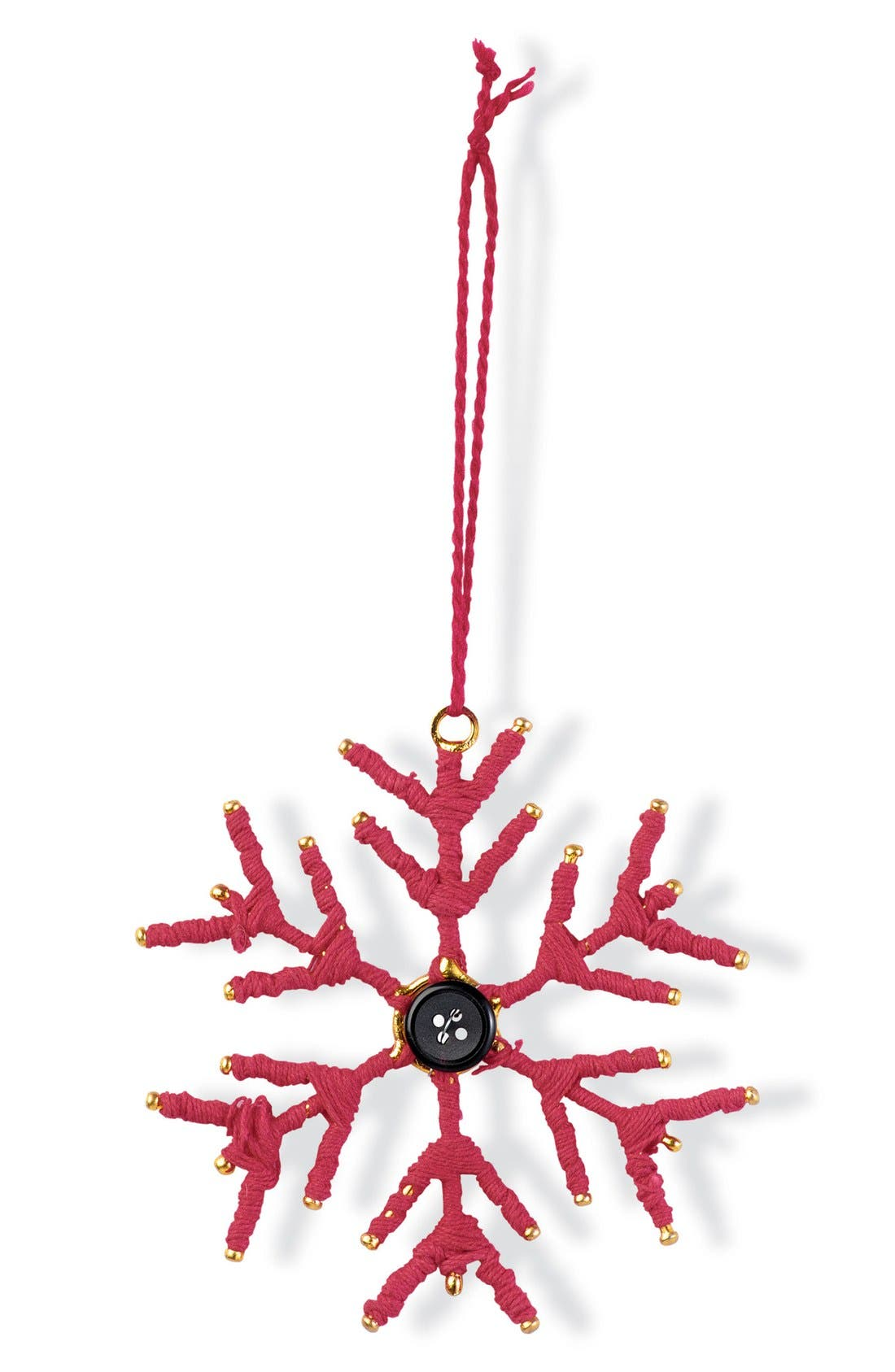 Main Image - Foreside Snowflake Ornament