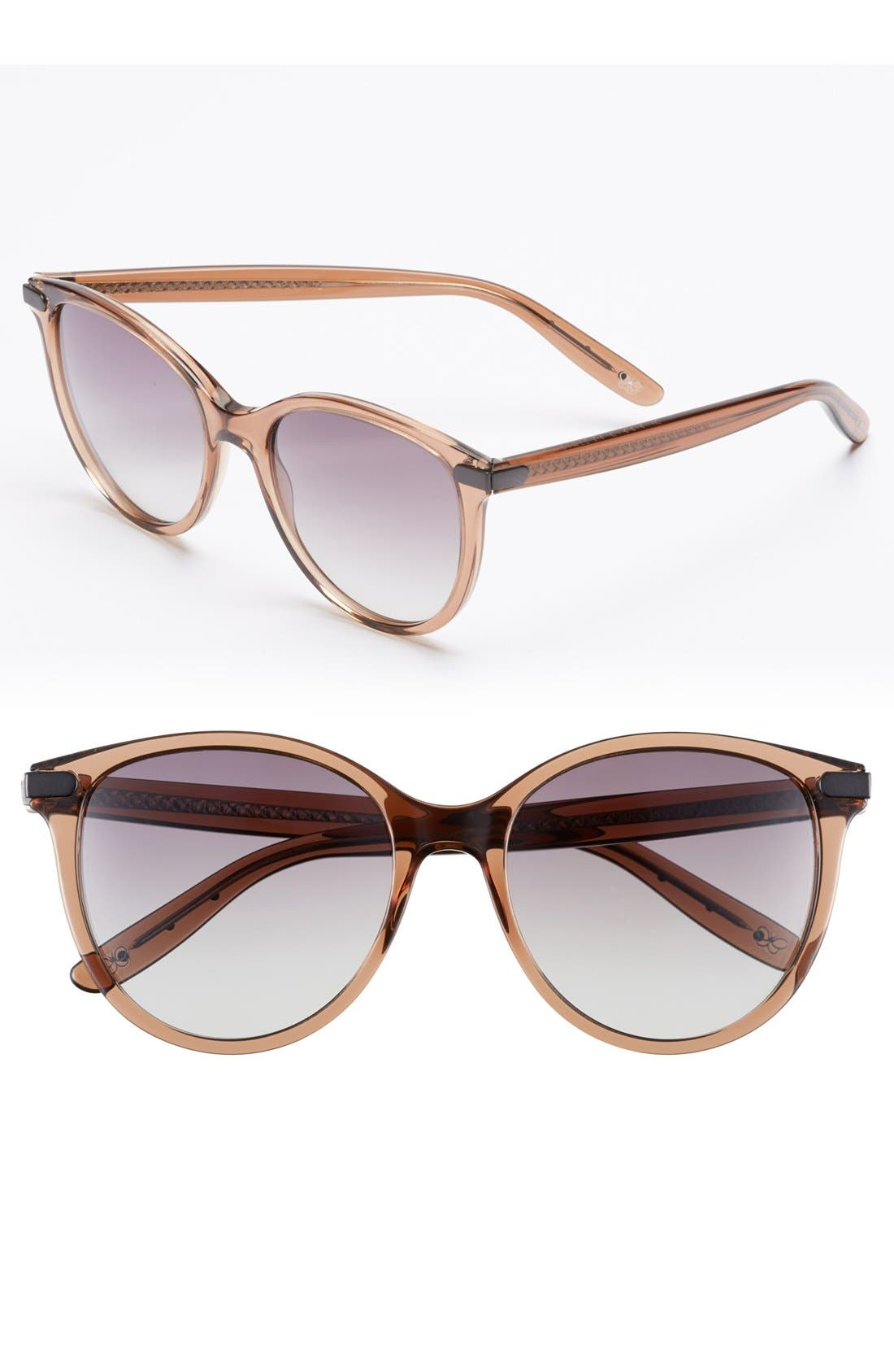 Main Image - Bottega Veneta 55mm Oversized Sunglasses