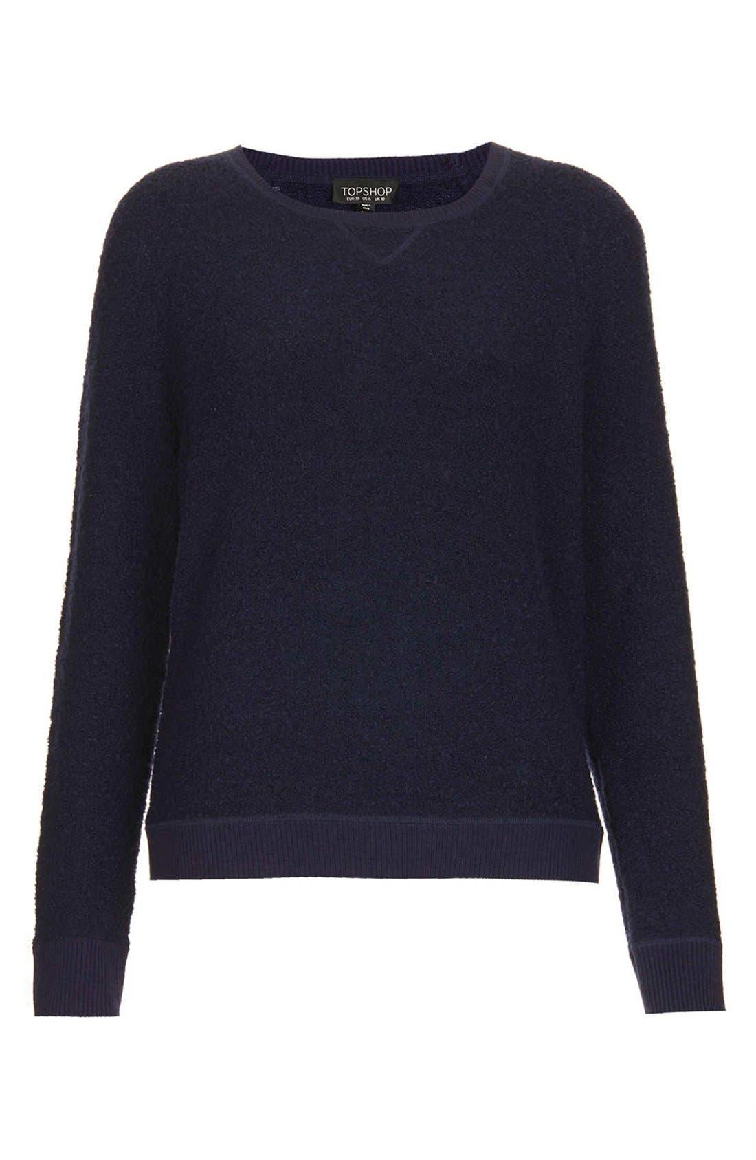 Alternate Image 3  - Topshop Bouclé Sweater
