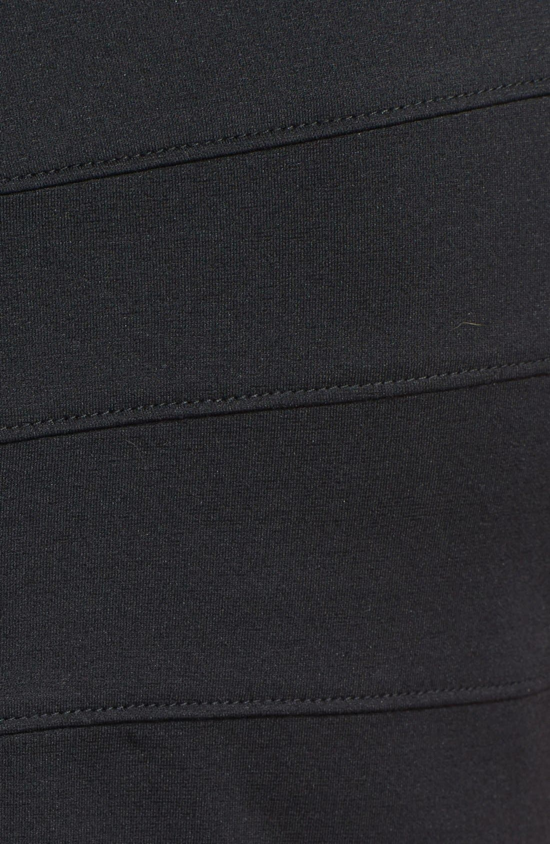 Alternate Image 4  - T by Tadashi Off Shoulder Stretch Jersey Sheath Dress