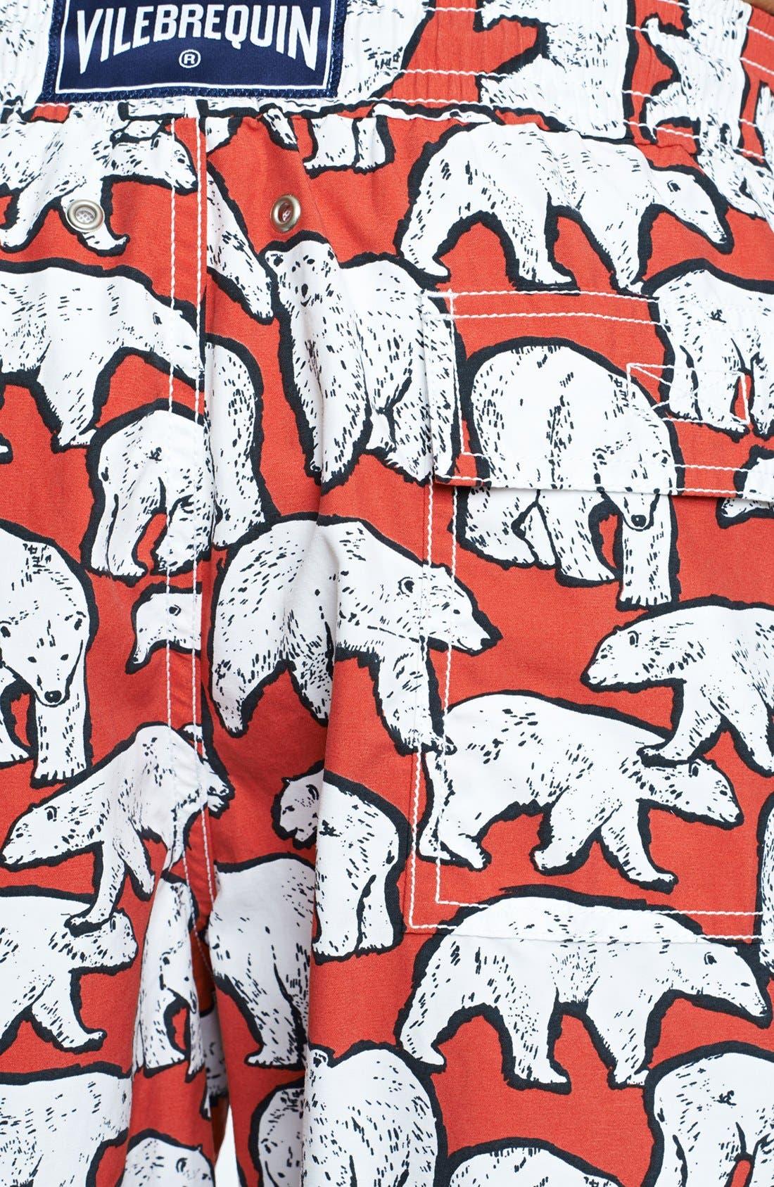 Alternate Image 3  - Vilebrequin 'Moorea' Polar Bear Print Swim Trunks