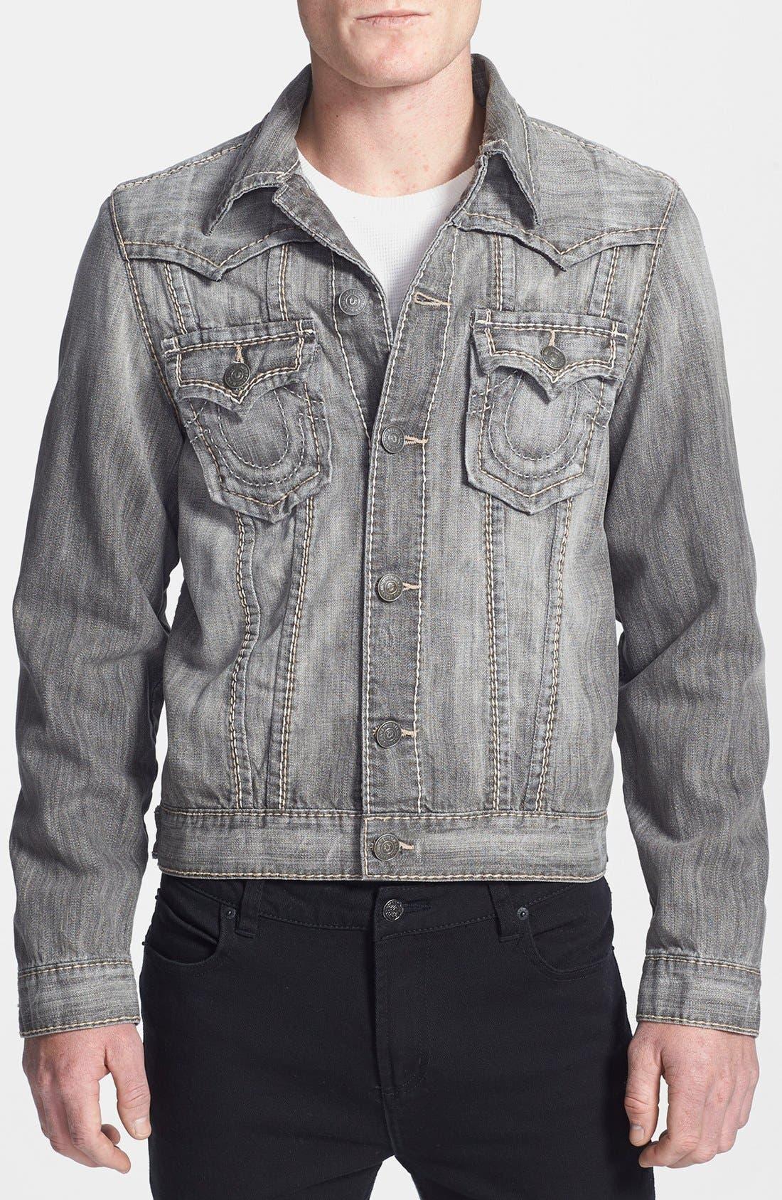Alternate Image 1 Selected - True Religion Brand Jeans 'Jimmy Big T' Denim Jacket