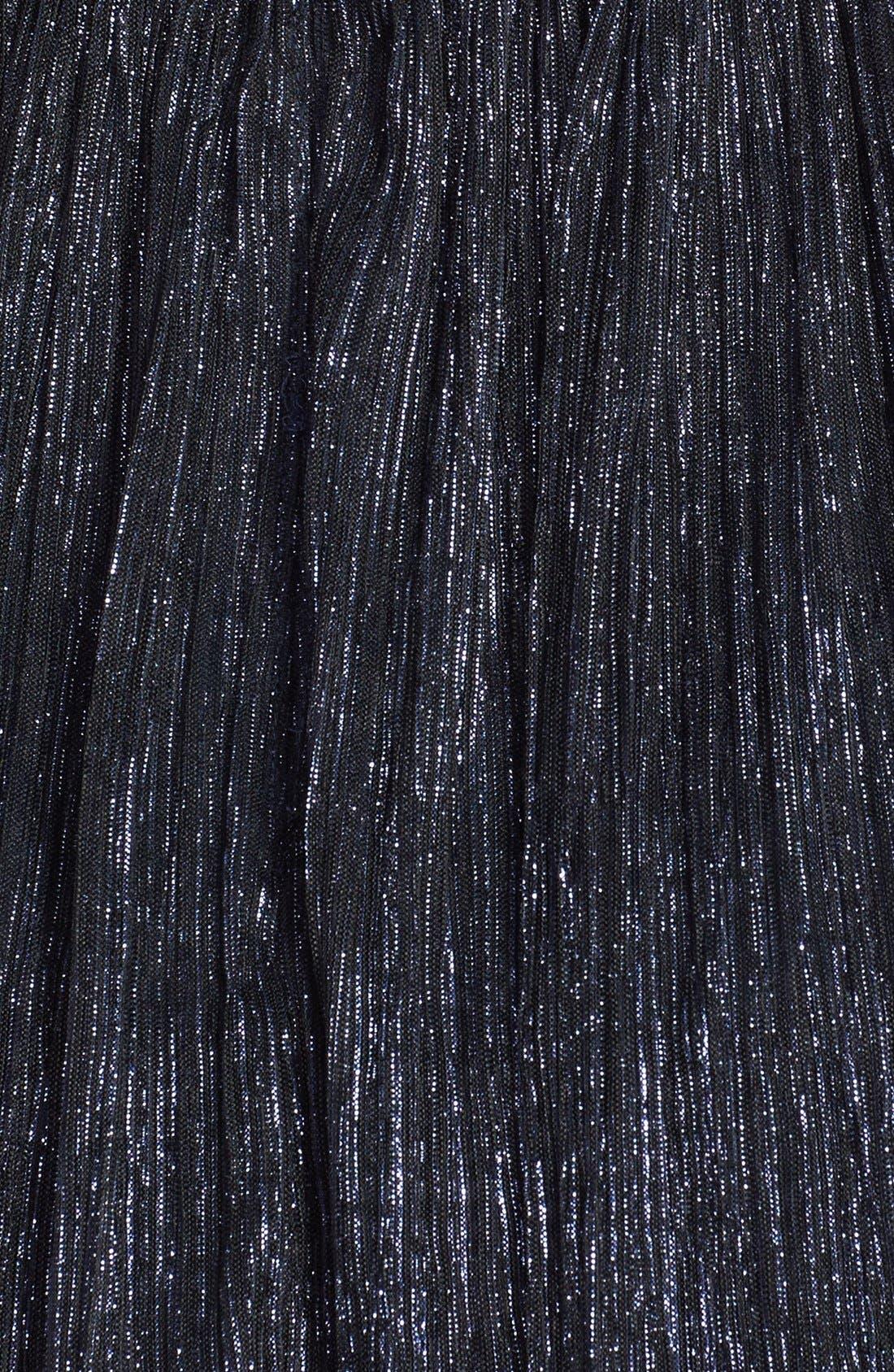 Alternate Image 4  - Maggy London Metallic Embroidered Cap Sleeve Dress