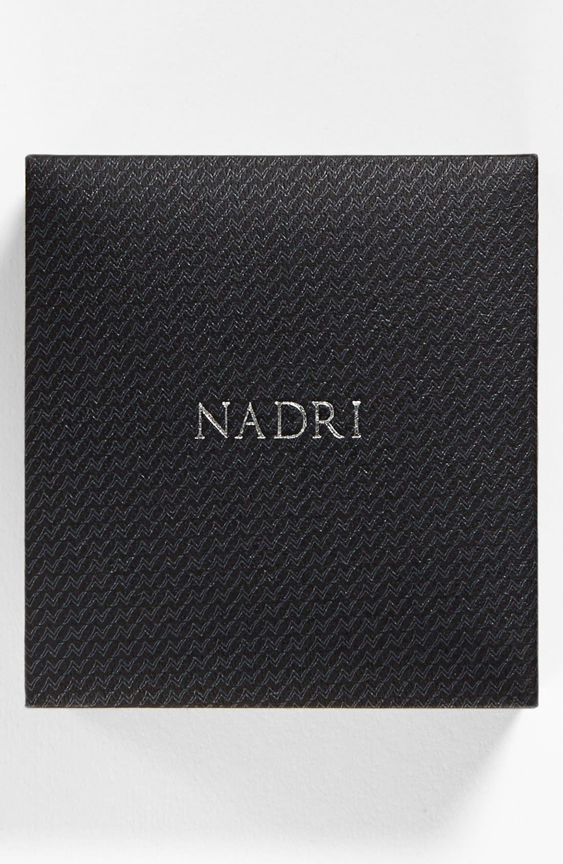Alternate Image 4  - Nadri Framed Round Cubic Zirconia Necklace (Nordstrom Exclusive)