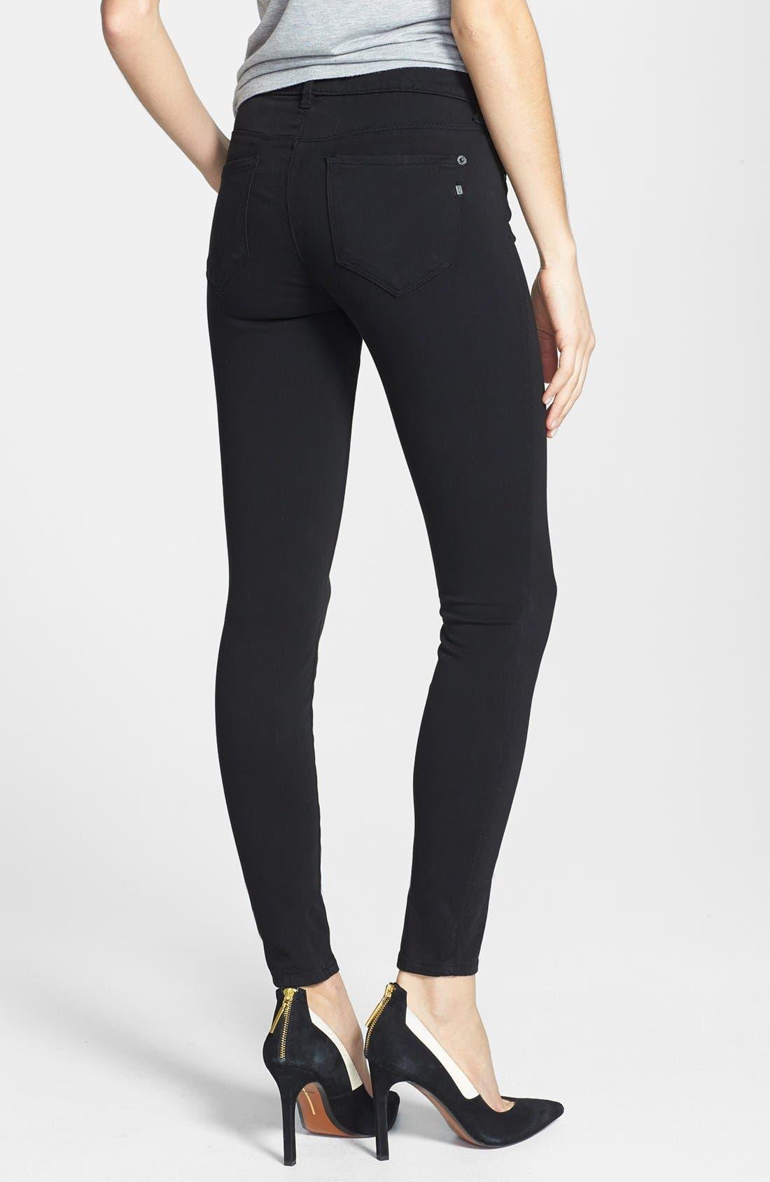 Alternate Image 2  - Genetic 'Shya' Cigarette Skinny Jeans