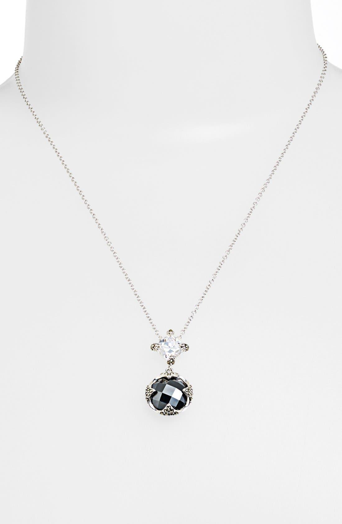Alternate Image 1 Selected - Judith Jack 'Aurora' Pendant Necklace