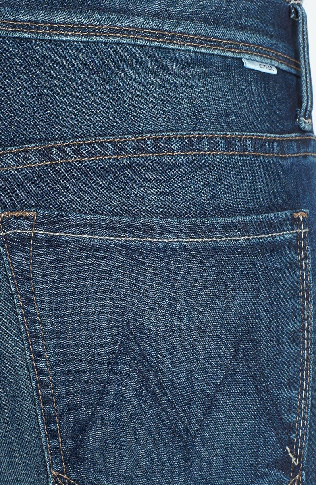 Alternate Image 3  - MOTHER 'Daydreamer' Skinny Flare Leg Jeans (Waltz at Midnight)