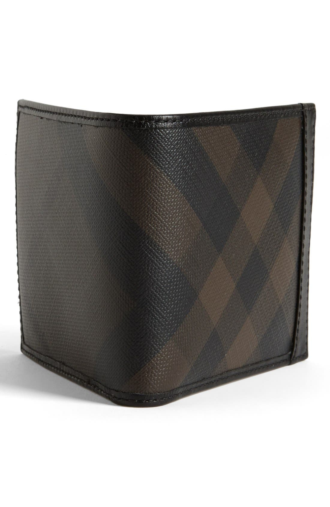 Alternate Image 3  - Burberry Brit Check Print Billfold