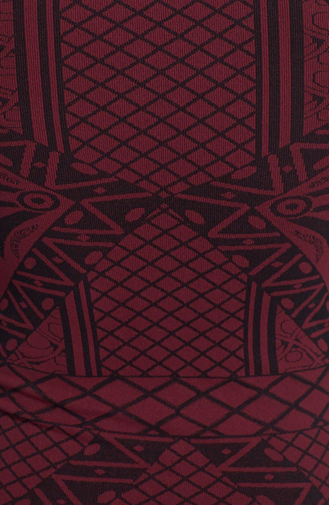 Alternate Image 3  - Free People 'Angles of Intarsia' Body-Con Dress