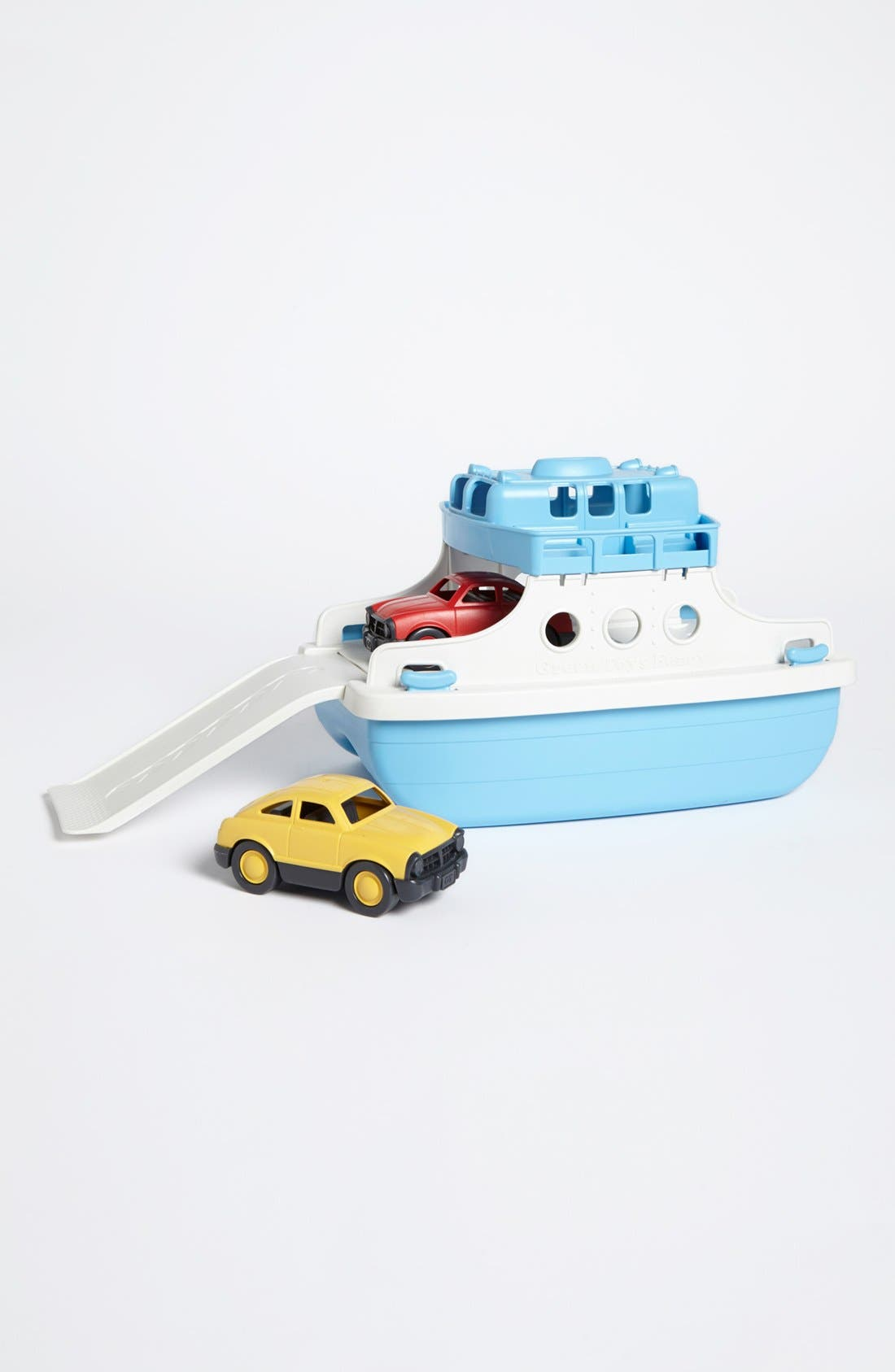 Ferry Boat Toy,                         Main,                         color, Blue/ White