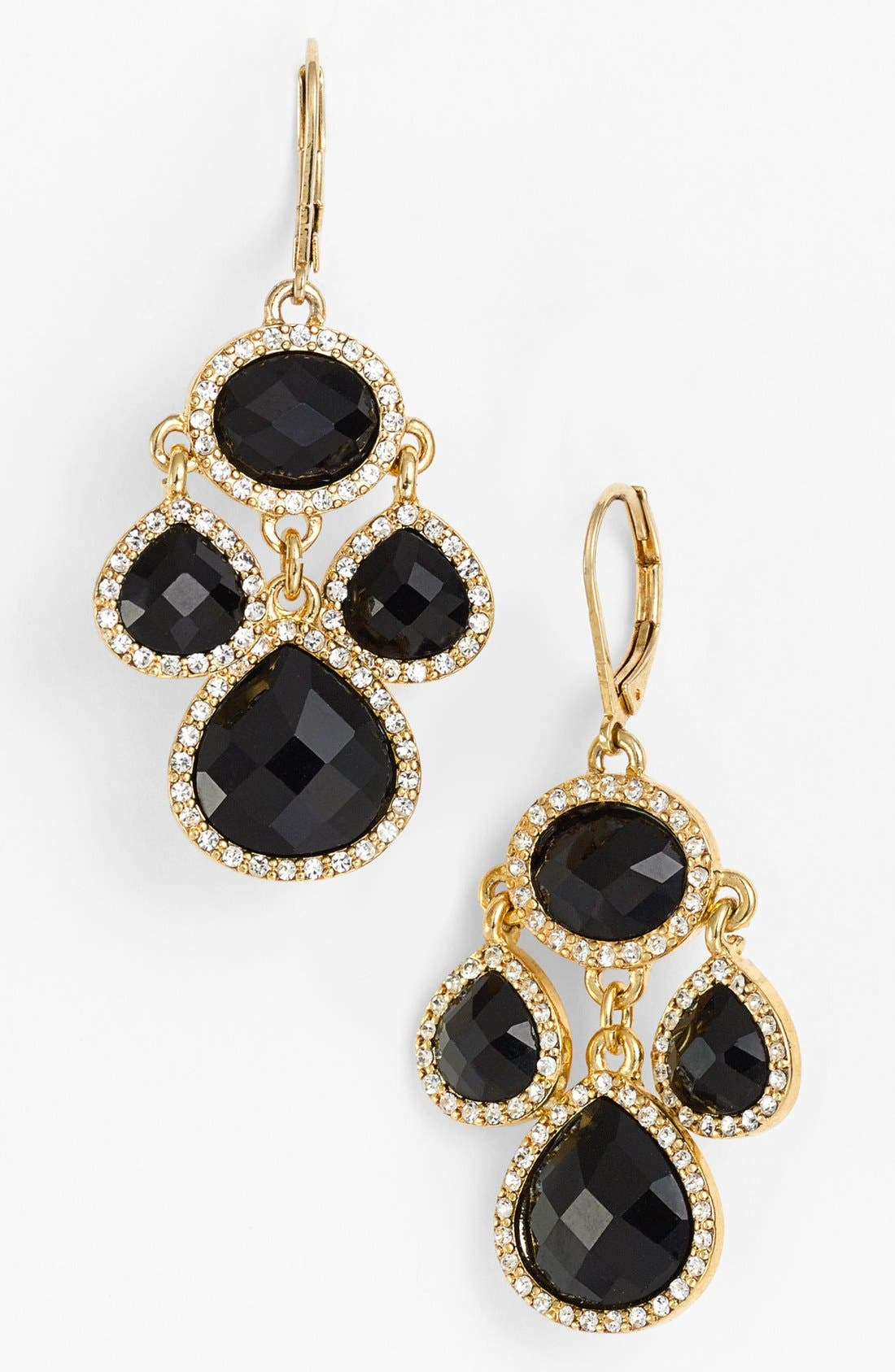 Alternate Image 1 Selected - Anne Klein Small Chandelier Earrings