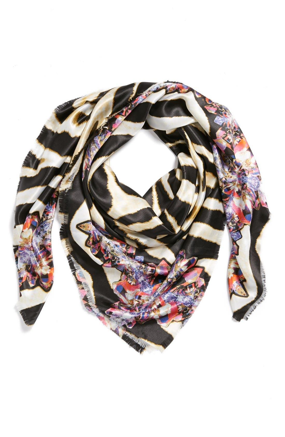 Main Image - Accessory Street Floral Scarf