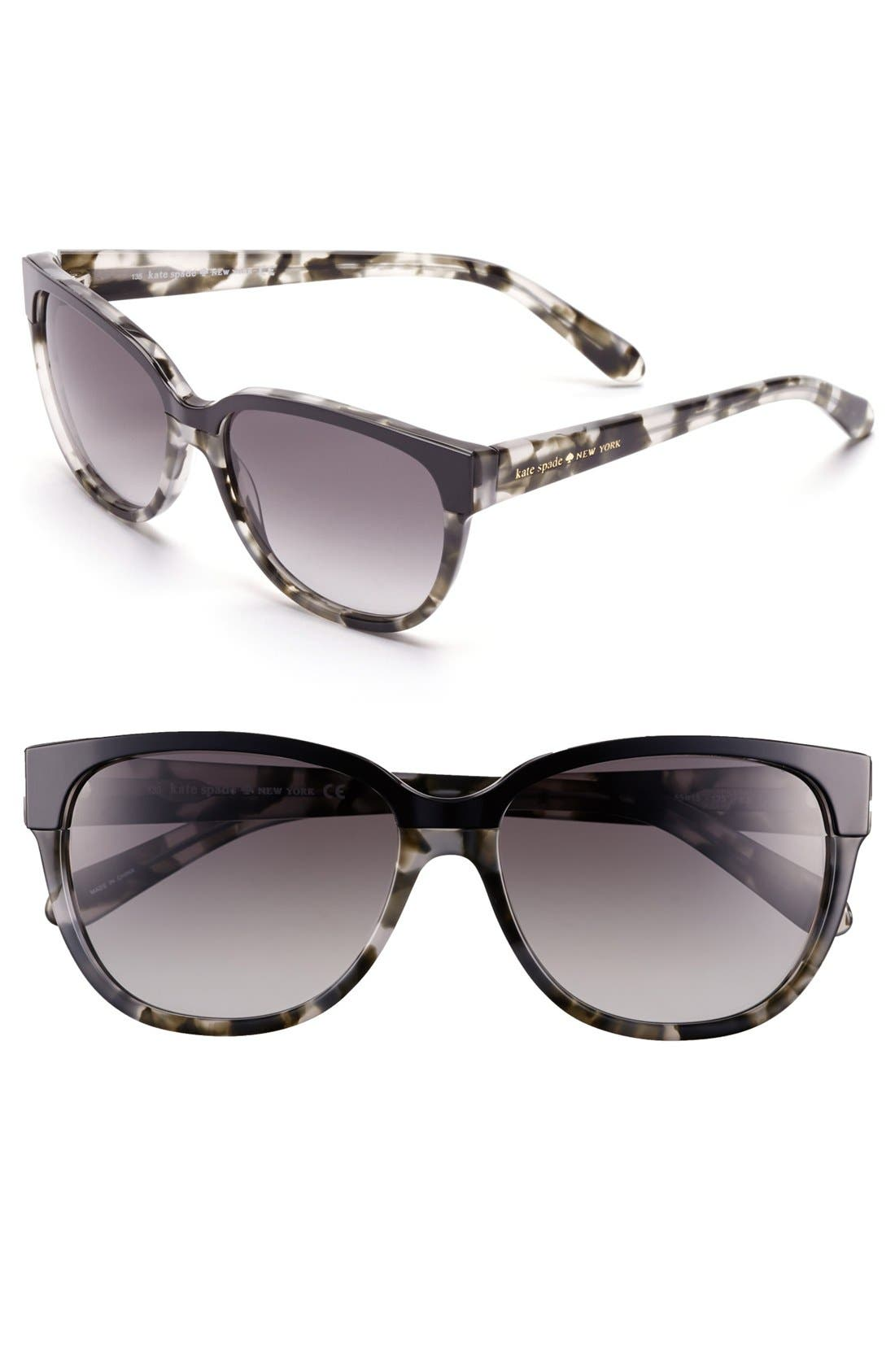Alternate Image 1 Selected - kate spade new york 55mm retro sunglasses