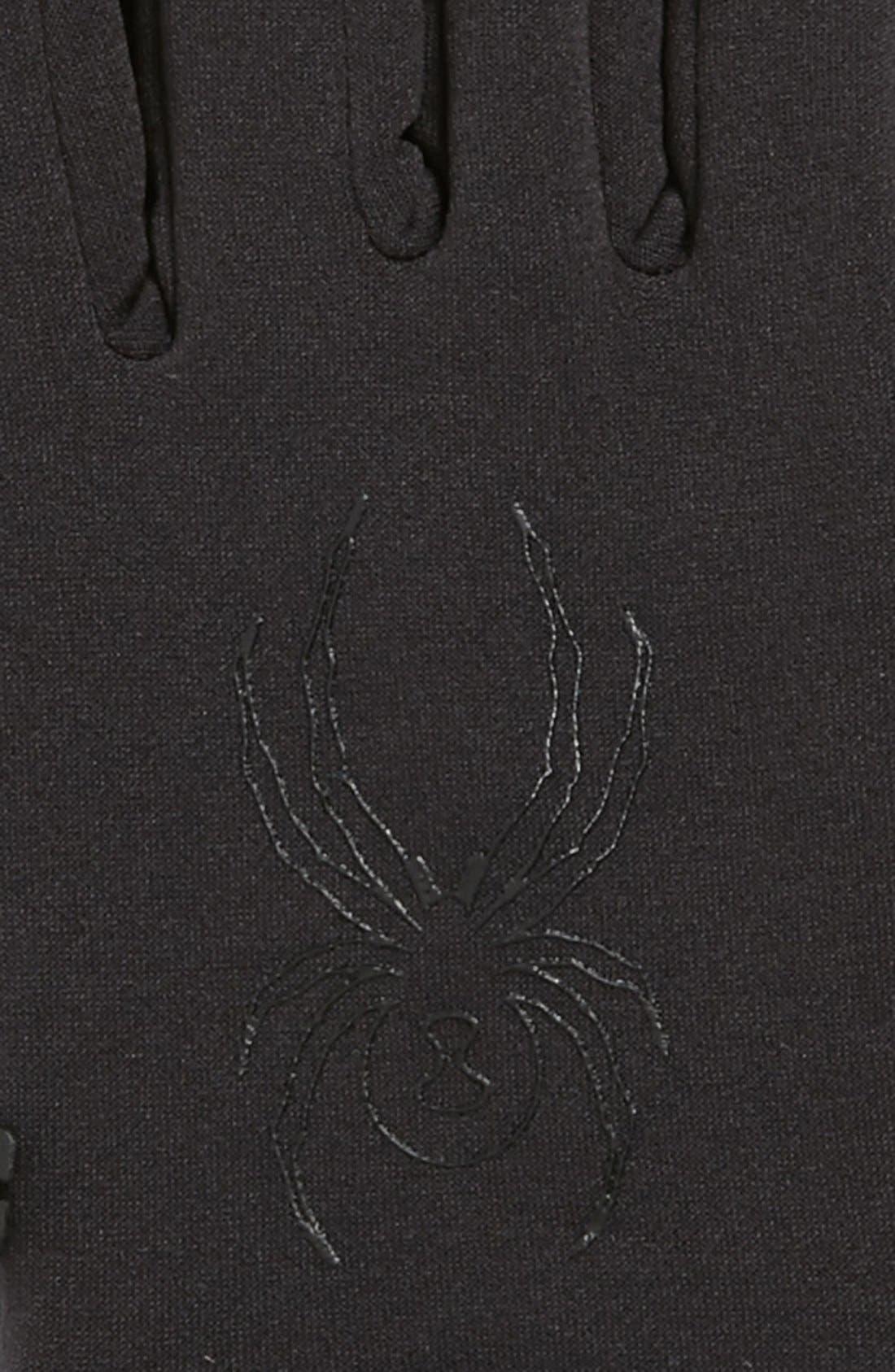 Alternate Image 2  - Spyder Stretch Fleece Gloves