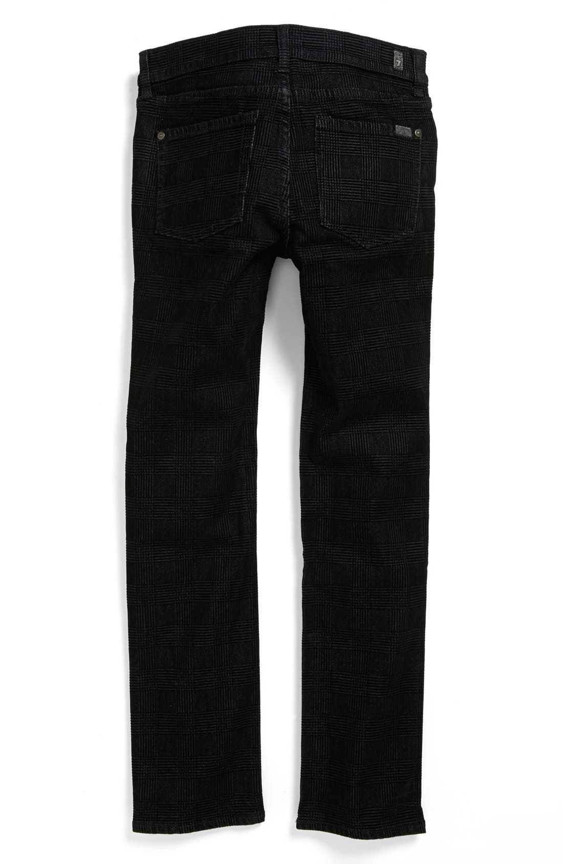 Alternate Image 2  - 7 For All Mankind® 'Slimmy' Straight Leg Jeans (Big Boys)