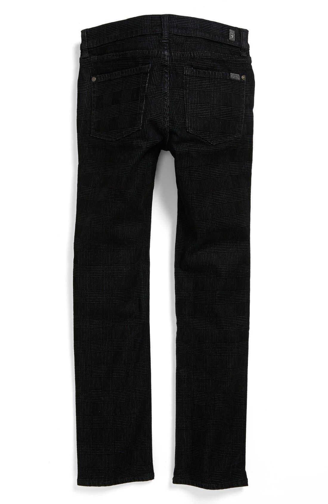 Alternate Image 2  - 7 For All Mankind® 'Slimmy' Straight Leg Jeans (Big Boys)