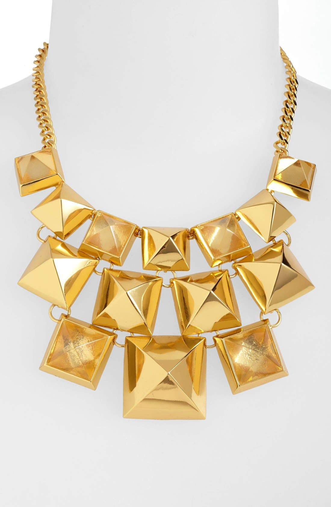 Alternate Image 2  - Vince Camuto 'Clearview' Pyramid Statement Necklace