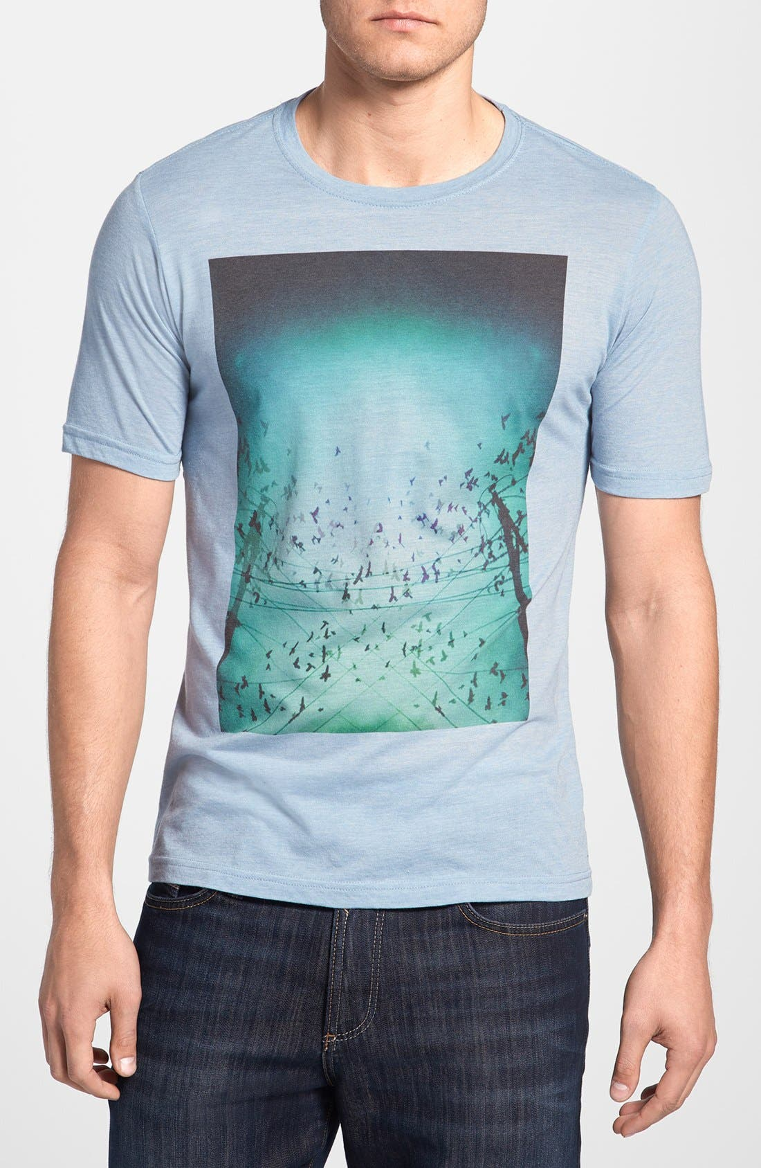 Alternate Image 1 Selected - Bowery Supply 'Sky Birds' Graphic T-Shirt