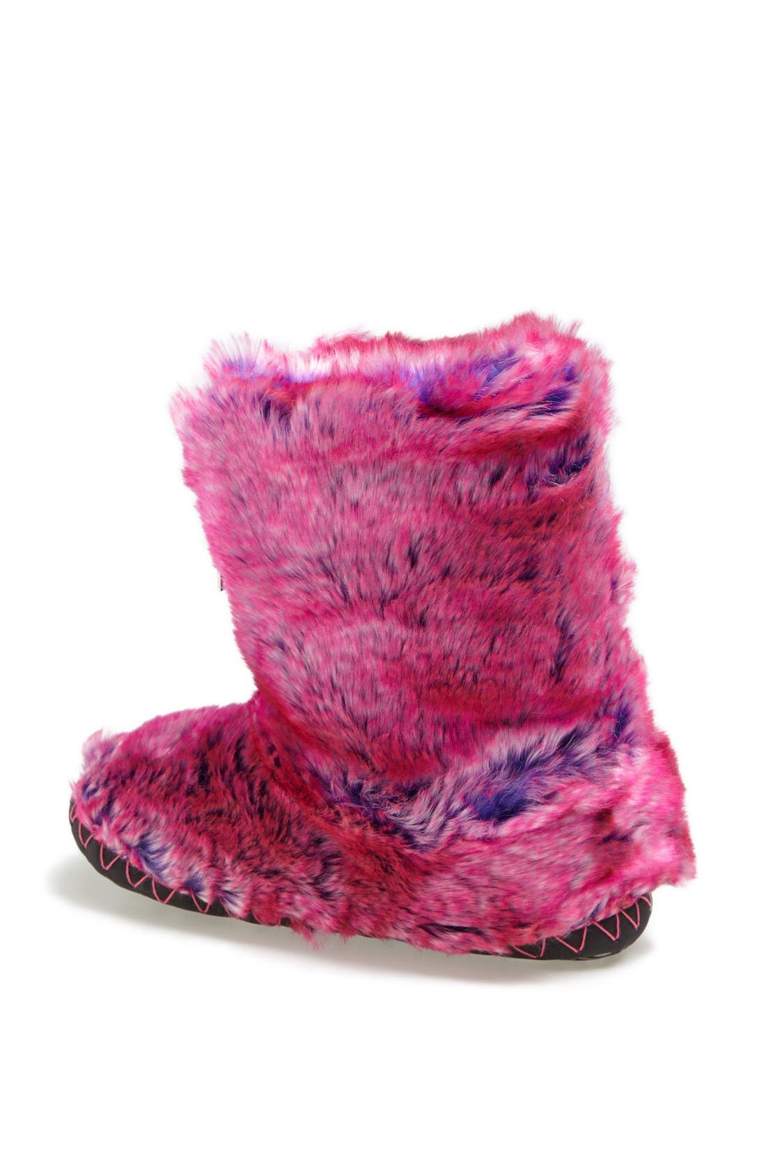 Alternate Image 2  - Bedroom Athletics 'Cole' Faux Fur Bootie Slipper