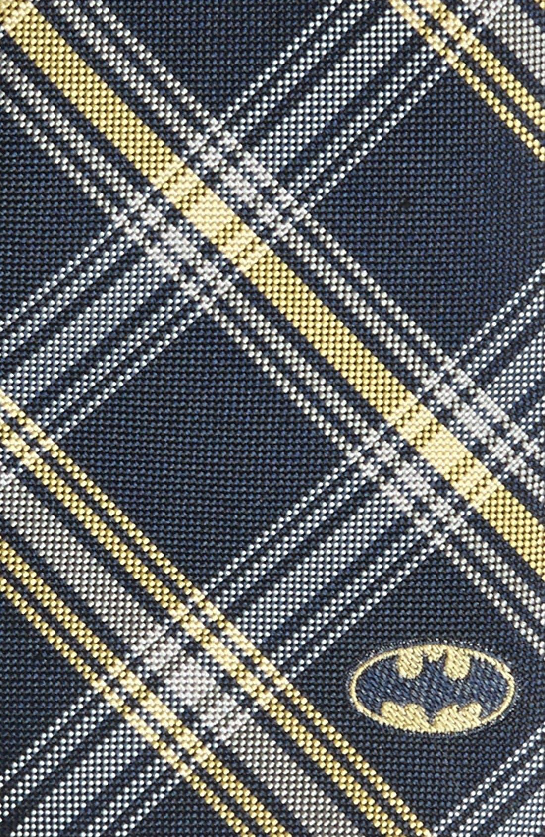 Alternate Image 2  - DC Comics Batman Plaid Tie
