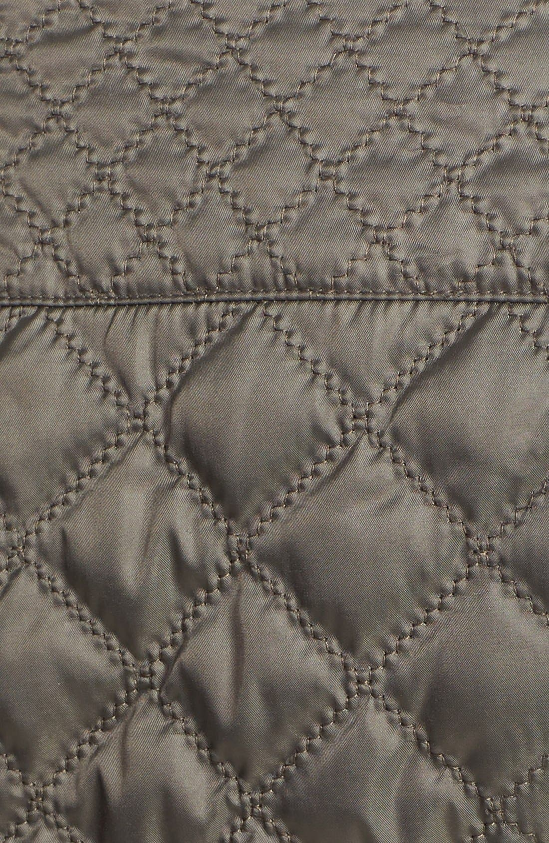 Alternate Image 3  - Laundry by Shelli Segal Packable Quilted Walking Coat (Regular & Petite)