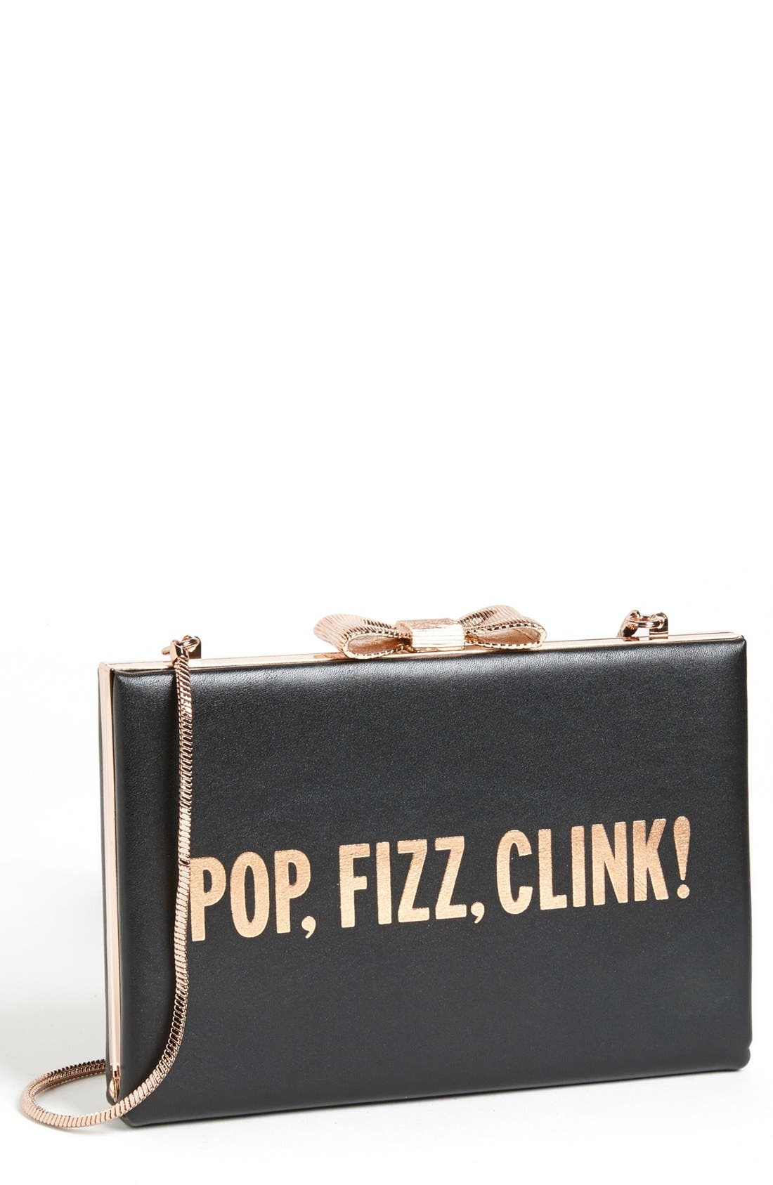 Alternate Image 1 Selected - kate spade new york 'all that glitters - emanuelle' frame clutch