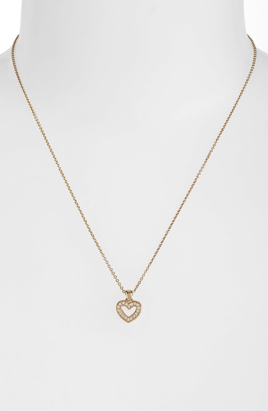 Alternate Image 1 Selected - Nadri Small Heart Pendant Necklace (Nordstrom Exclusive)