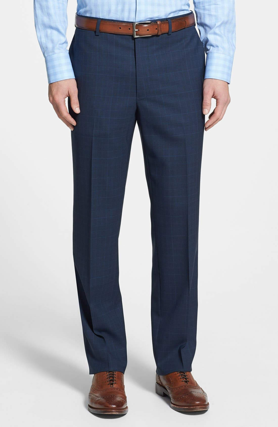 Alternate Image 4  - Samuelsohn Classic Fit Plaid Suit