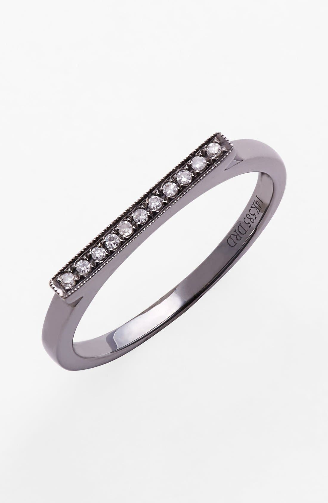 Dana Rebecca Designs 'Sylvie Rose' Diamond Bar Ring