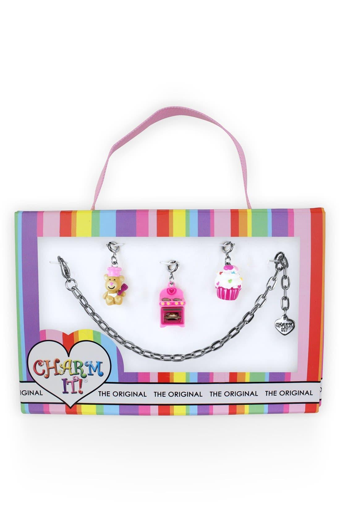 Main Image - High Intencity 'Charm It!® - Sugar & Spice' Charm Bracelet (Girls)
