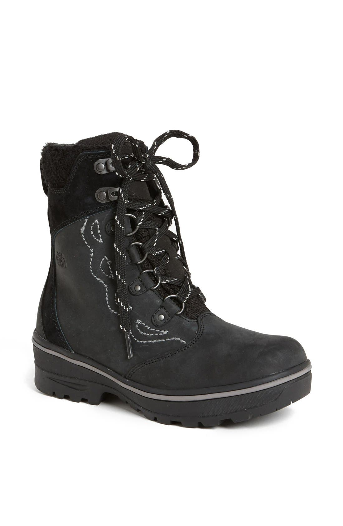 Alternate Image 1 Selected - The North Face 'Snowbreaker' Waterproof Leather Boot (Women)