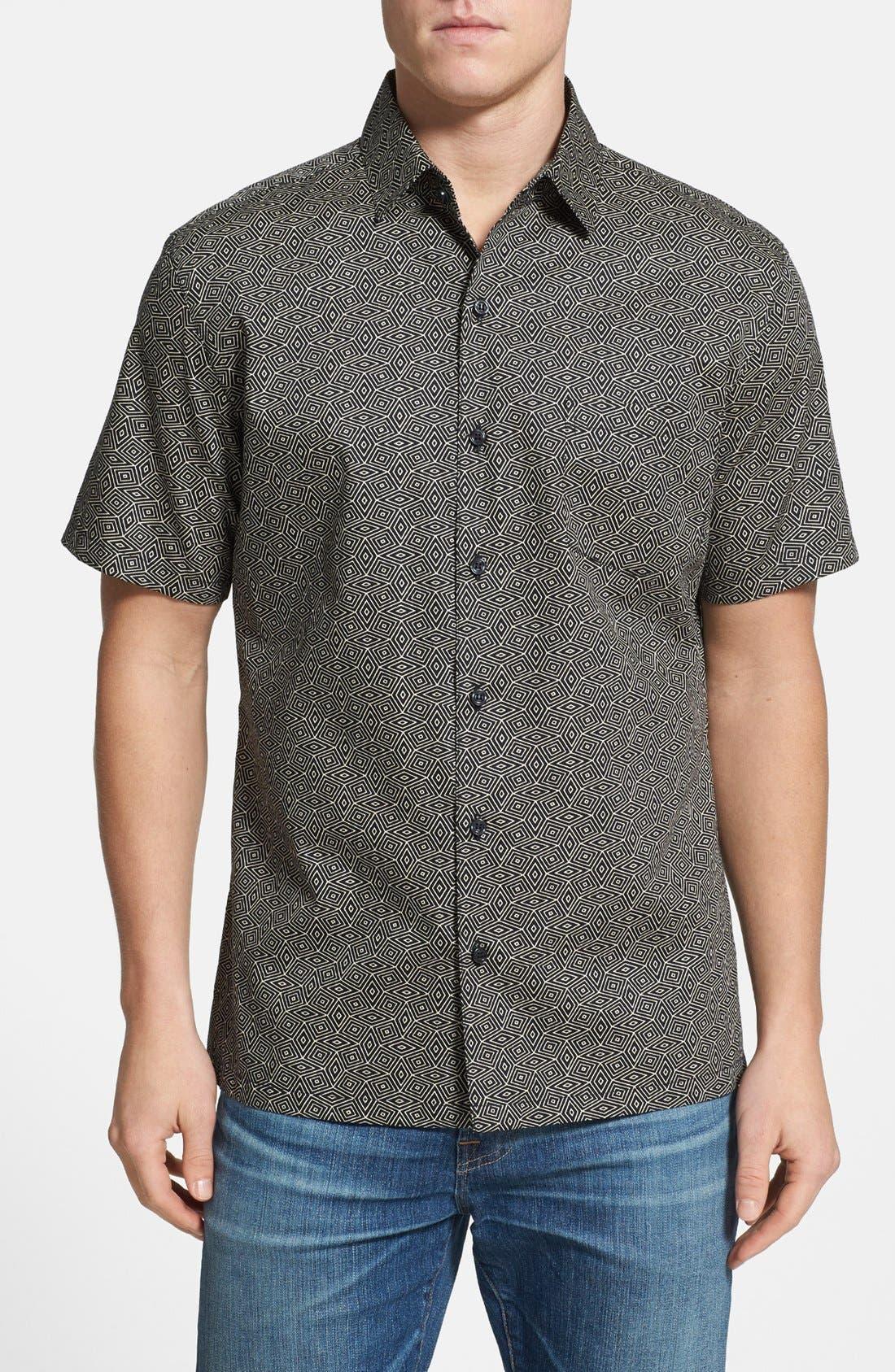 Alternate Image 1 Selected - Tori Richard 'Hypnoweave' Classic Fit Sport Shirt