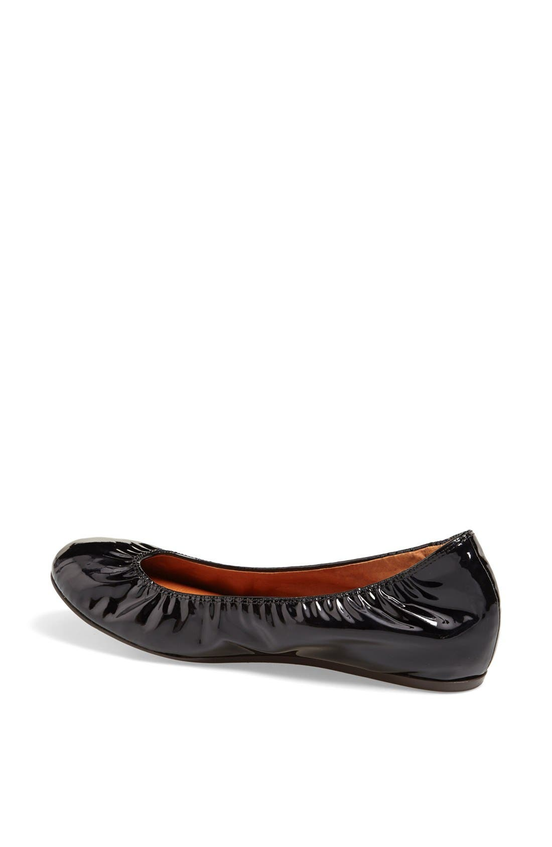 Alternate Image 2  - Lanvin Patent Leather Ballerina Flat