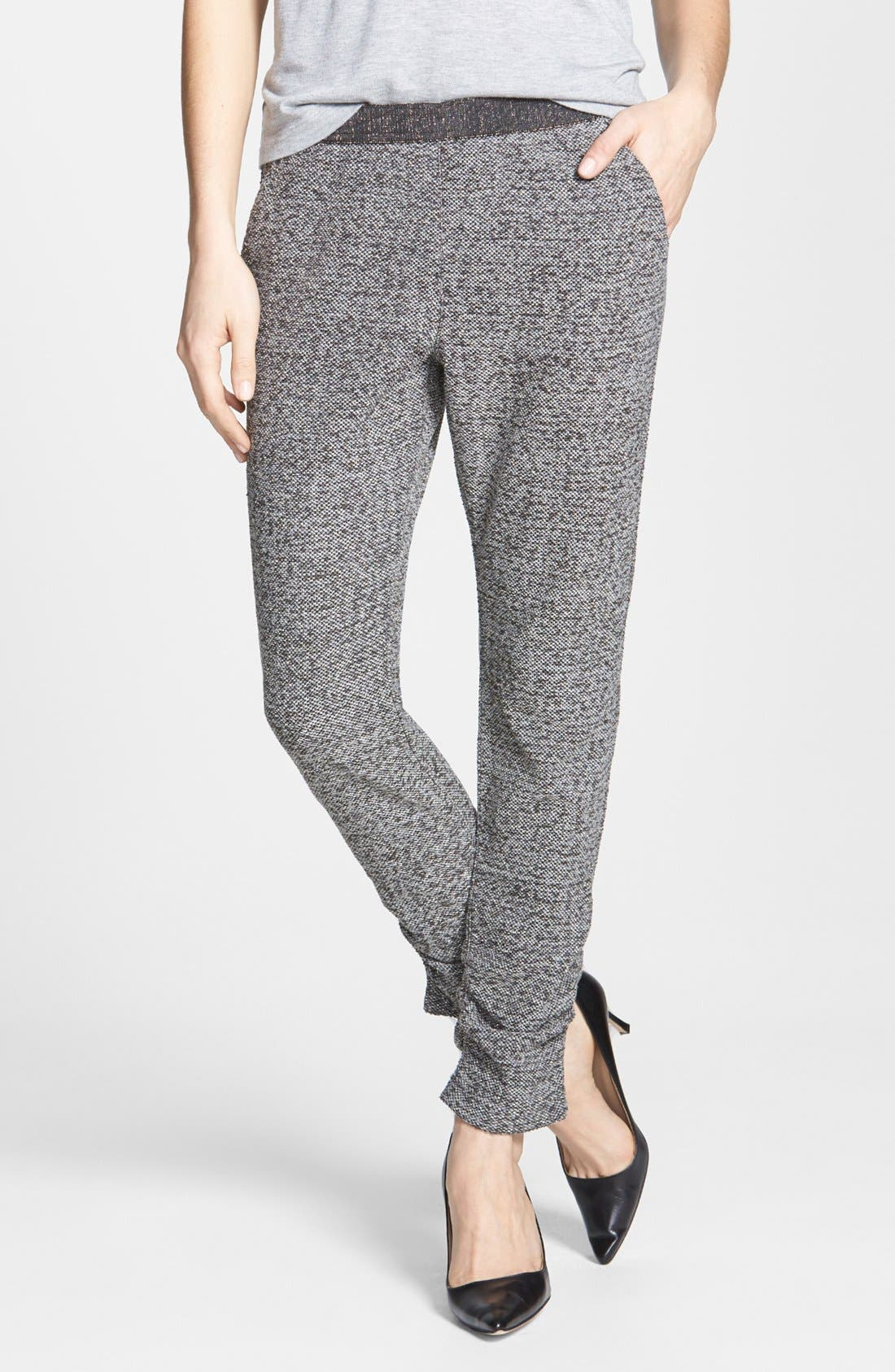 Alternate Image 1 Selected - Free People 'Milo' Metallic Pants